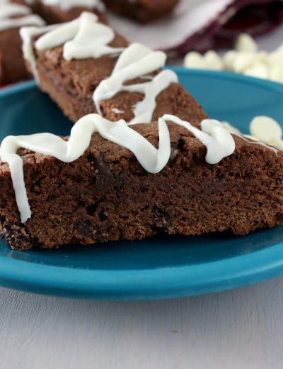 Triple Chocolate Biscotti Recipe l www.a-kitchen-addiction.com