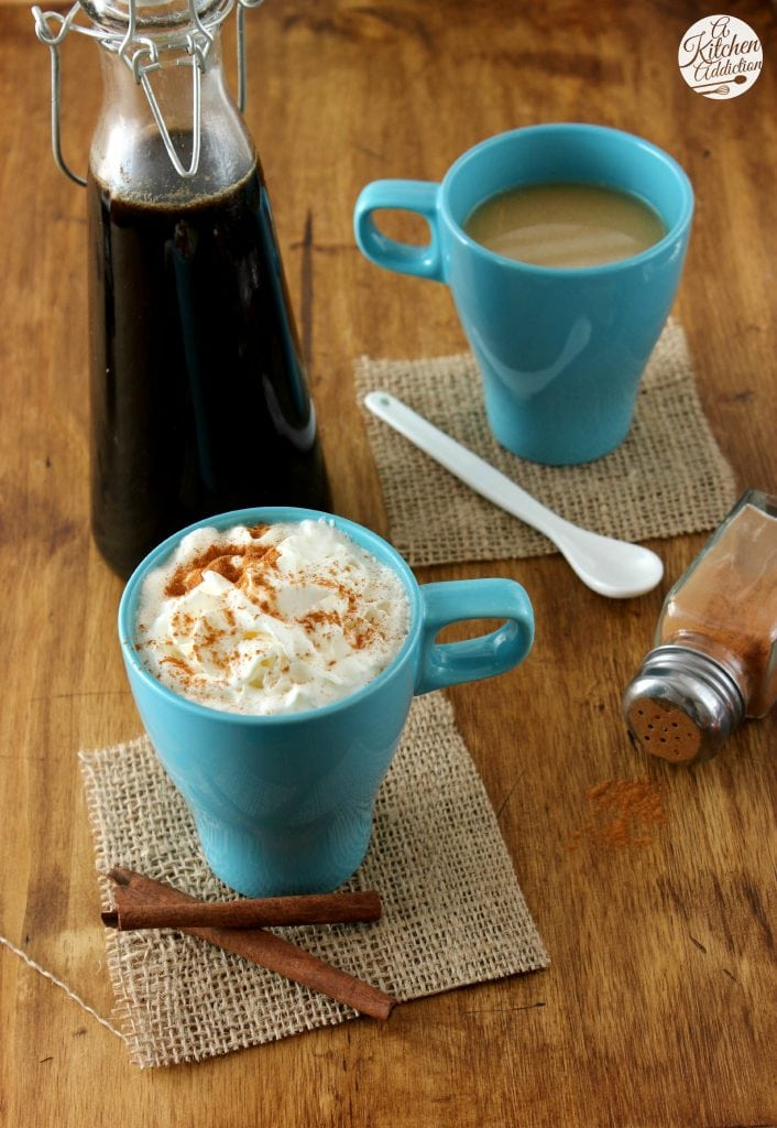 Cinnamon French Toast Lattes Recipe l www.a-kitchen-addiction.com