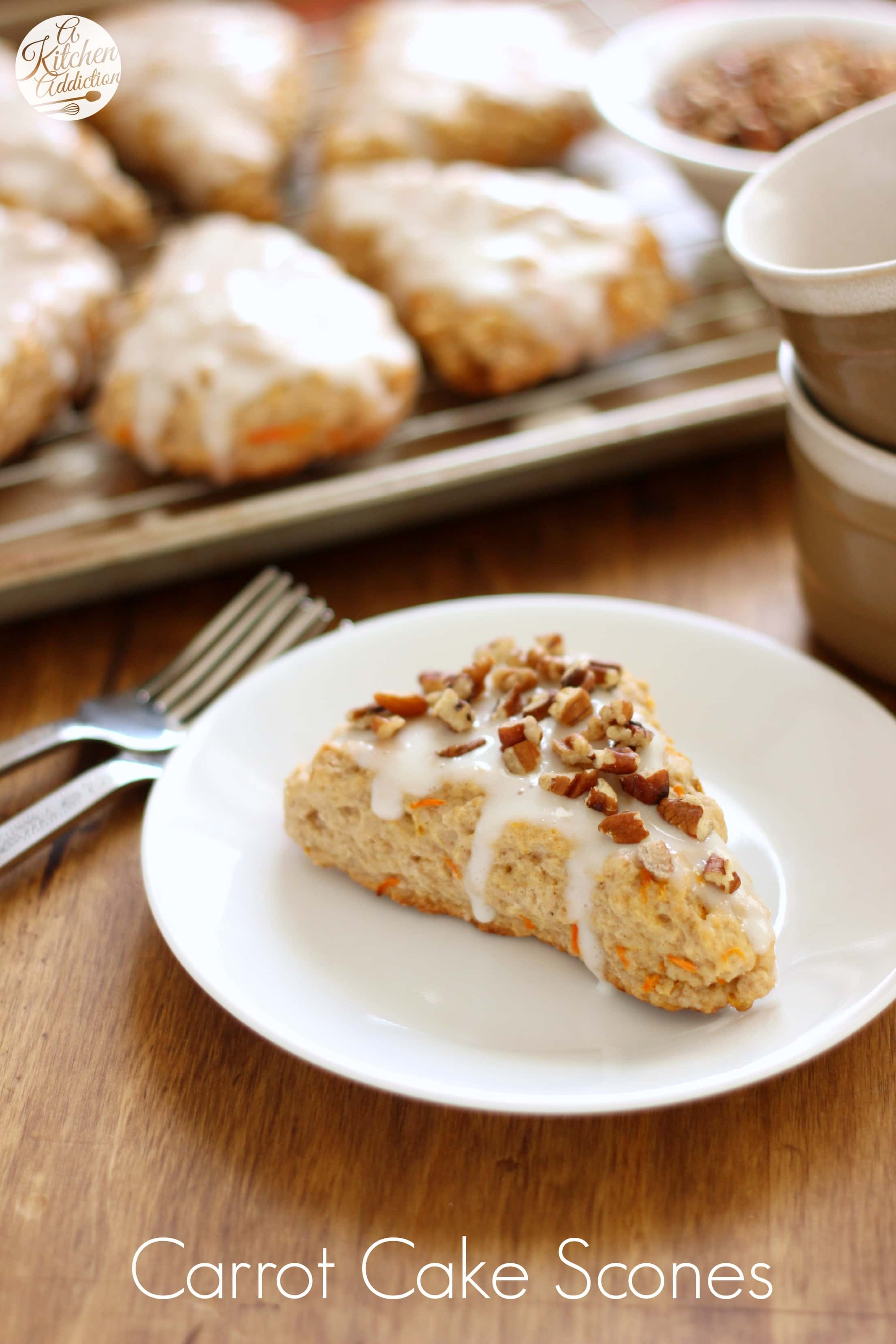 Carrot cake scones a kitchen addiction for A kitchen addiction