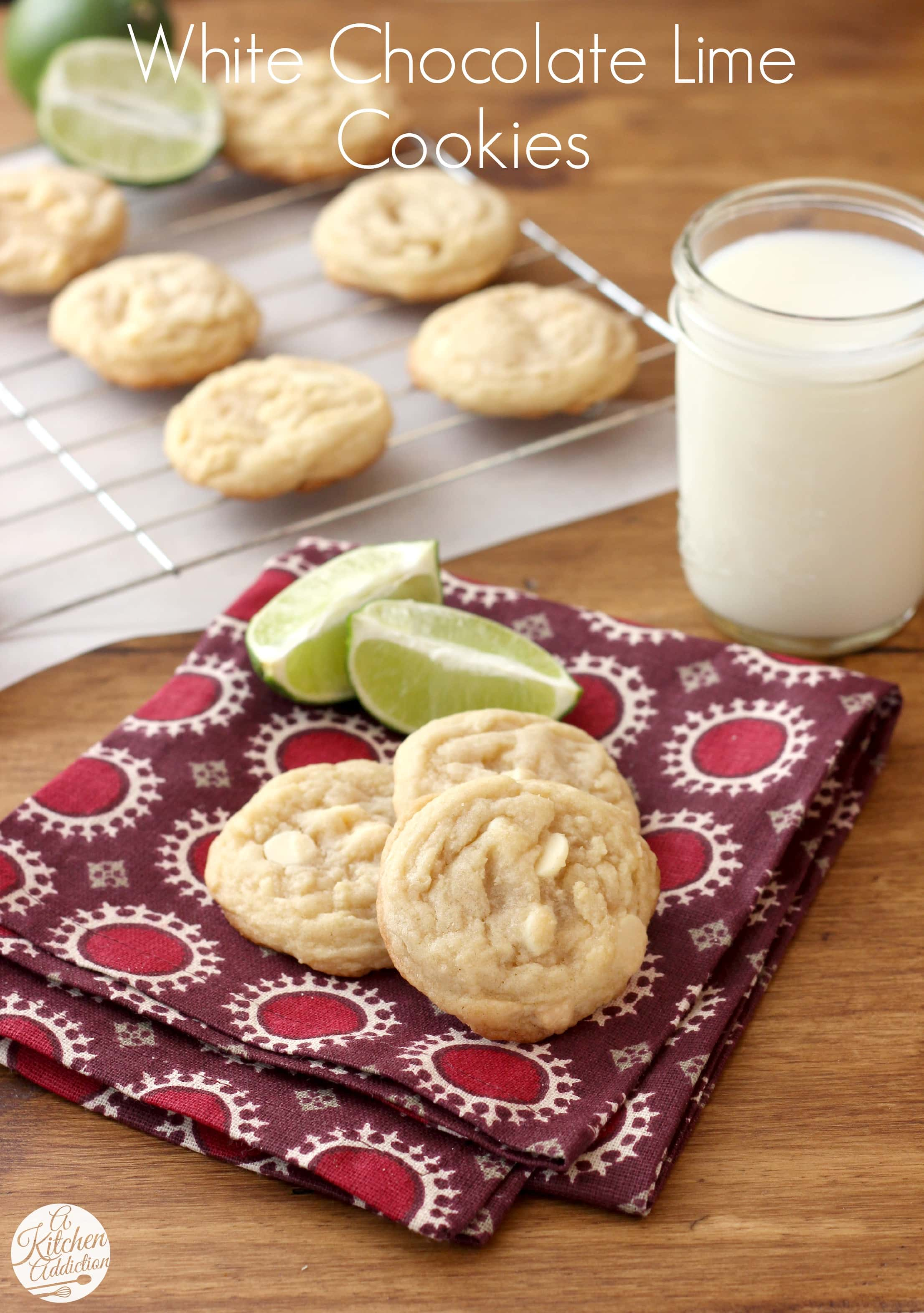 Key lime cookies recipes white chocolate