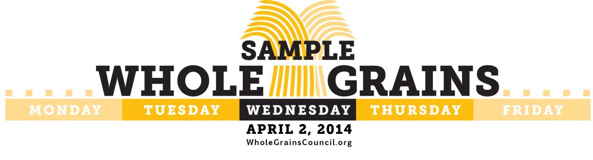 Whole Grains Sampling Day 2014
