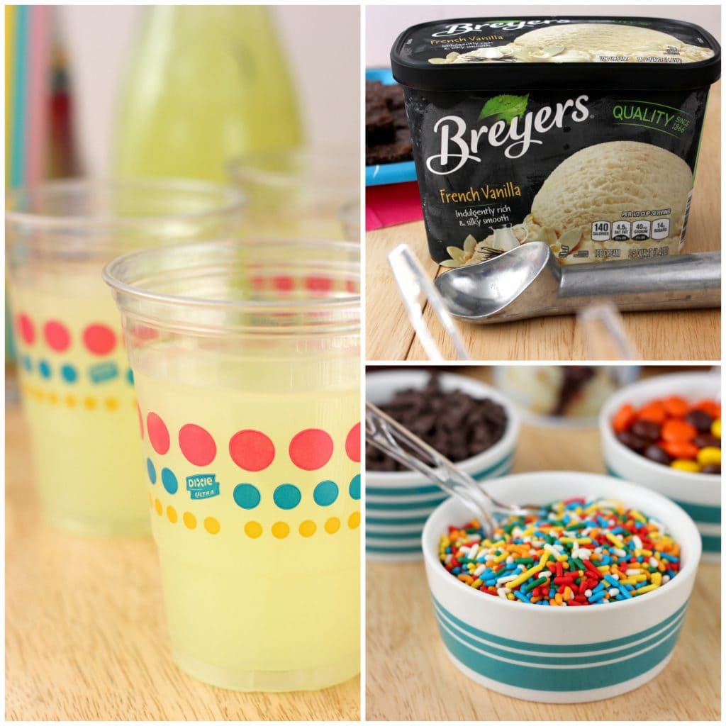 M&M Cookie Sundaes l www.a-kitchen-addiction.com