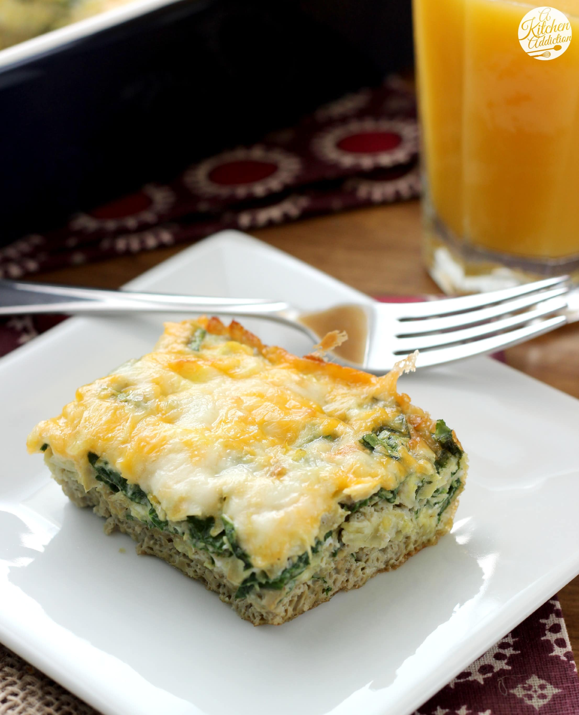 Spinach And Mozzarella Egg Bake Recipes — Dishmaps