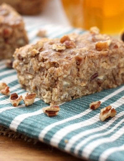 Banana Nut Breakfast Bars