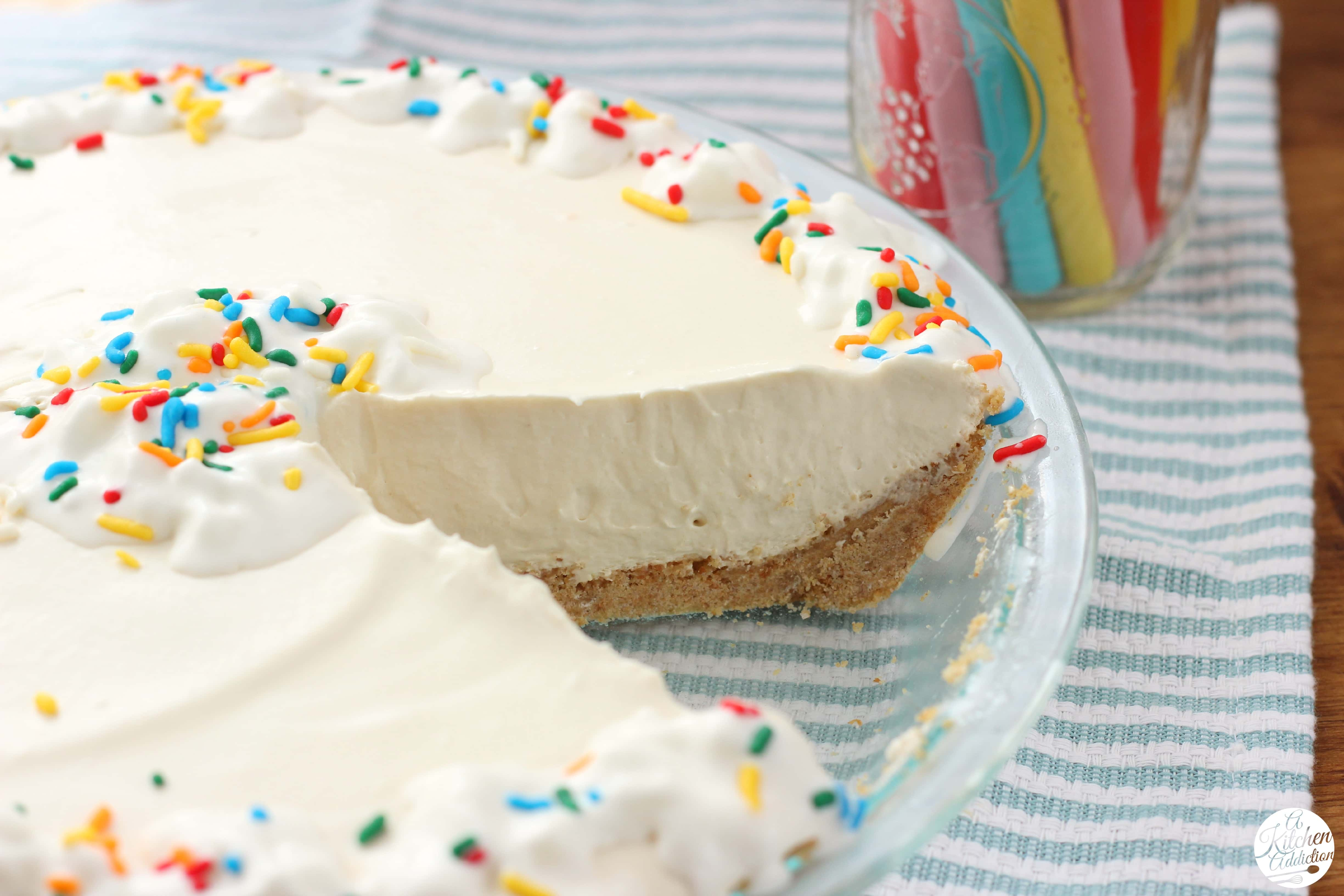 Root Beer Float Pie - A Kitchen Addiction