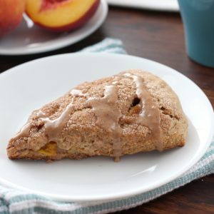 Peach Snickerdoodle Scones