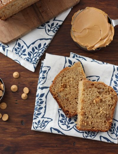 Peanut Butter Graham Banana Bread