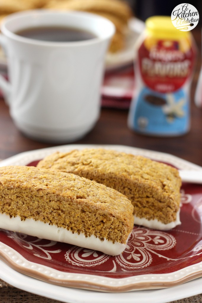 Pumpkin Pie Biscotti #remixyourcoffee
