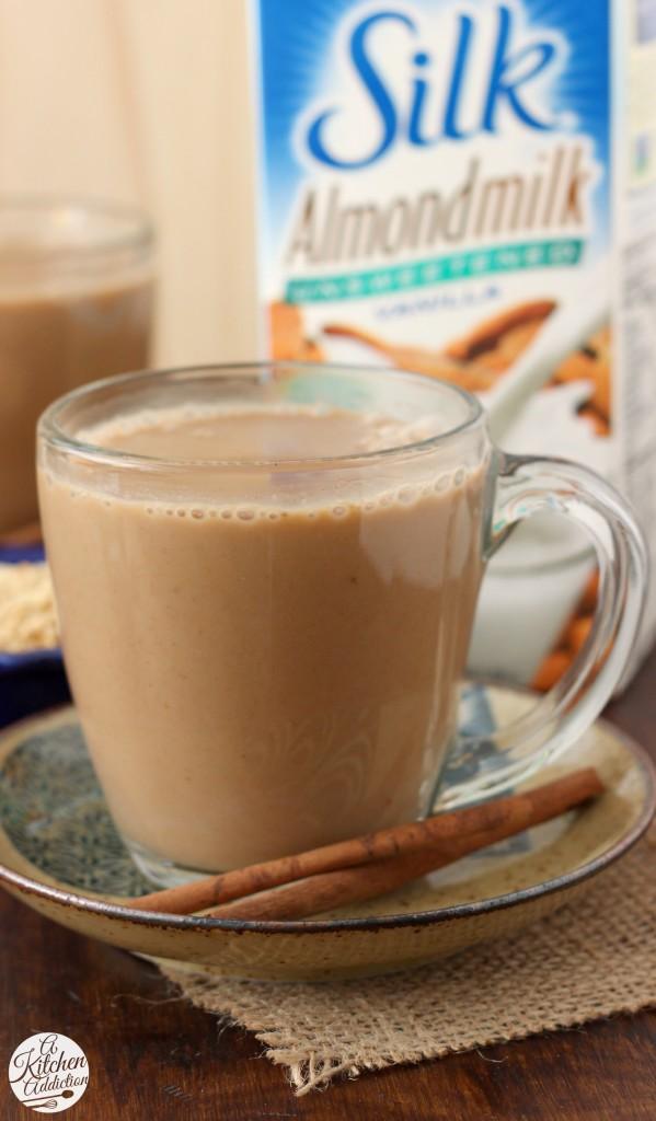 Dairy Free Pumpkin Pie Steamer Recipe l www.a-kitchen-addiction.com