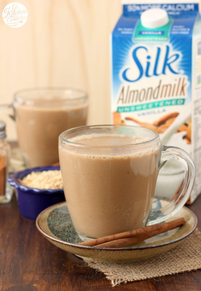Dairy Free Pumpkin Pie Steamer with Almondmilk Recipe l www.a-kitchen-addiction.com