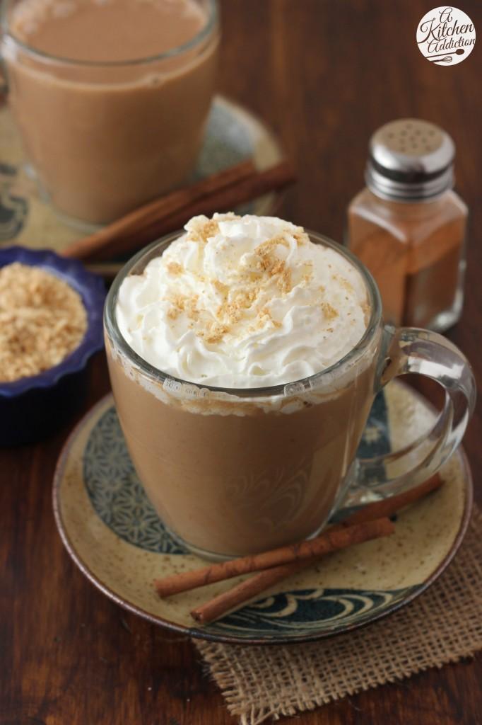 Pumpkin Pie Steamer with Almondmilk Recipe l www.a-kitchen-addiction.com