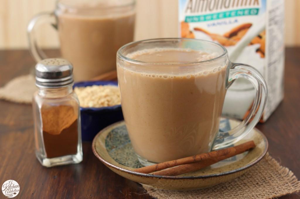 Dairy Free Pumpkin Pie Steamer with Silk Almondmilk Recipe l www.a-kitchen-addiction.com