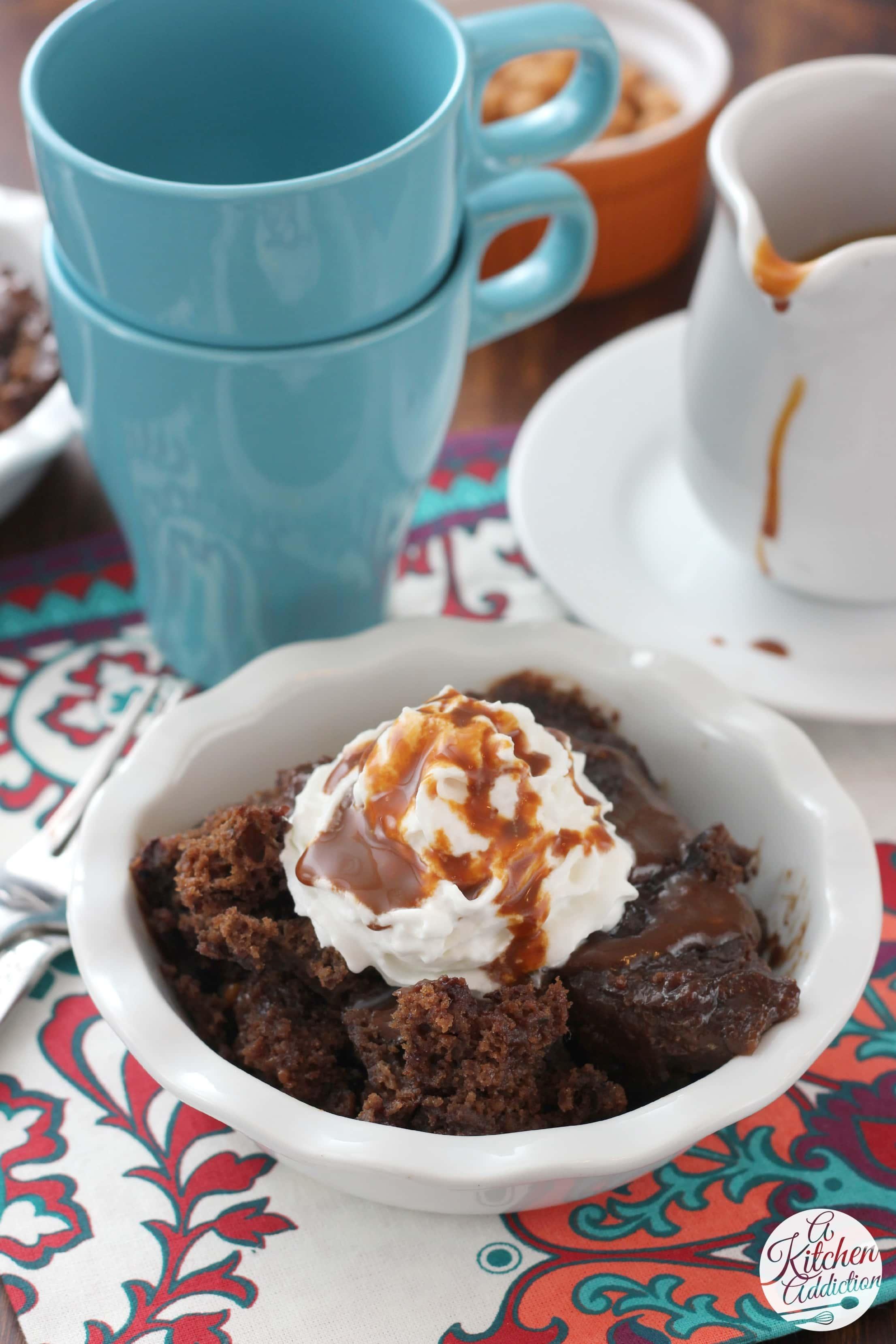 Slow Cooker Chocolate Caramel Pudding Cake A Kitchen Addiction