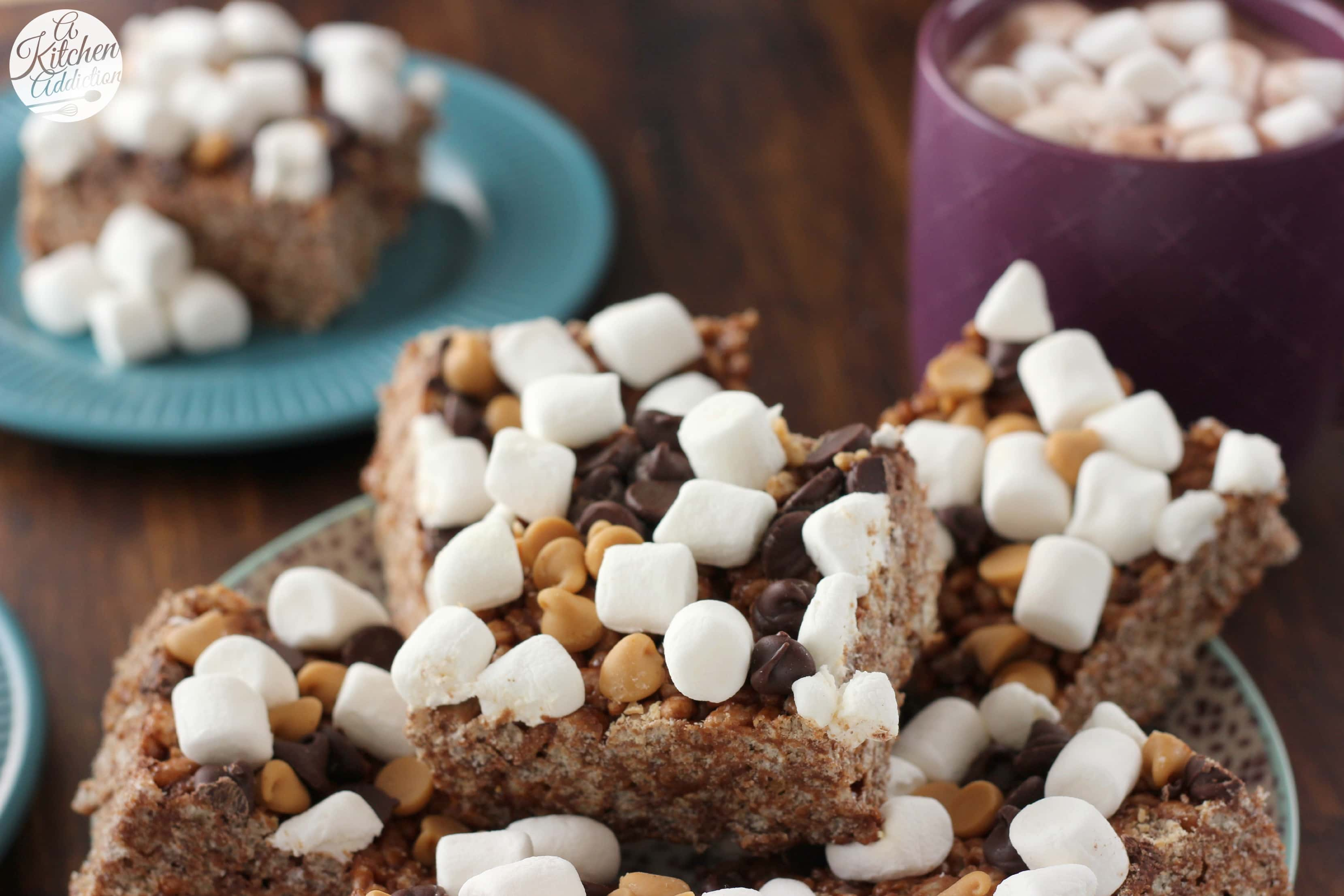 Crunchy Chocolate Treats Recipe — Dishmaps