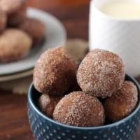 Cinnamon Sugar Eggnog Donut Muffins