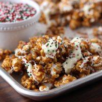 Gingerbread Caramel Corn