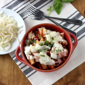 Slow Cooker Easy Baked Ziti