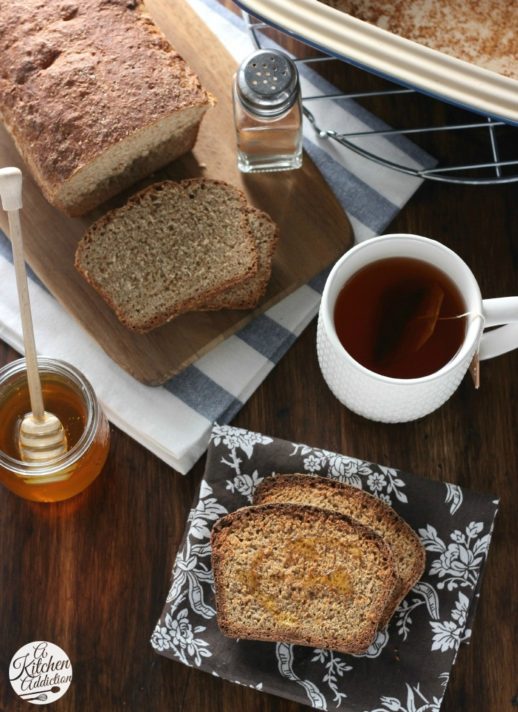 Cinnamon Honey Wheat English Muffin Bread - A Kitchen ...