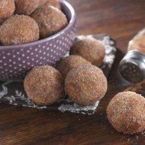 Cinnamon Sugar Chai Donut Muffins