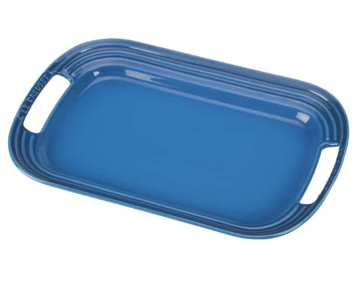 Le Creuset Blue Serving Platter