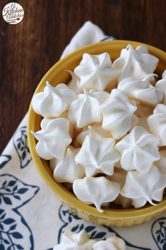 Easy Lemon Meringue Kiss Cookies l www.a-kitchen-addiction.com