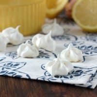 Lemon Meringue Kiss Cookies
