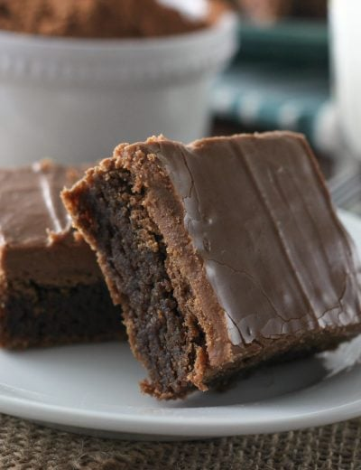 Buttermilk Brownies Recipe from A Kitchen Addiction