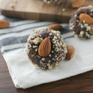 Fudgy Almond Cookies