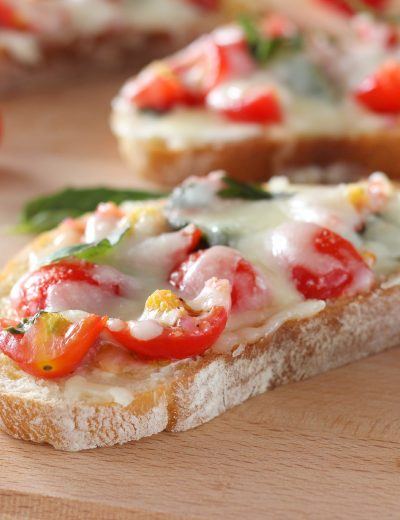 Bruschetta Melts Recipe from A Kitchen Addiction