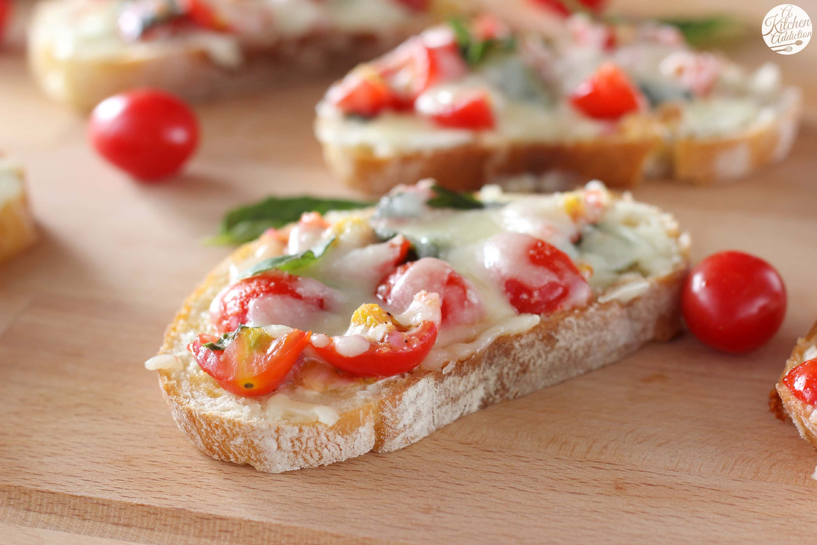 Bruschetta Melts Recipe from A Kitchen Addiction