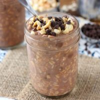 Double Chocolate Cashew Overnight Oats