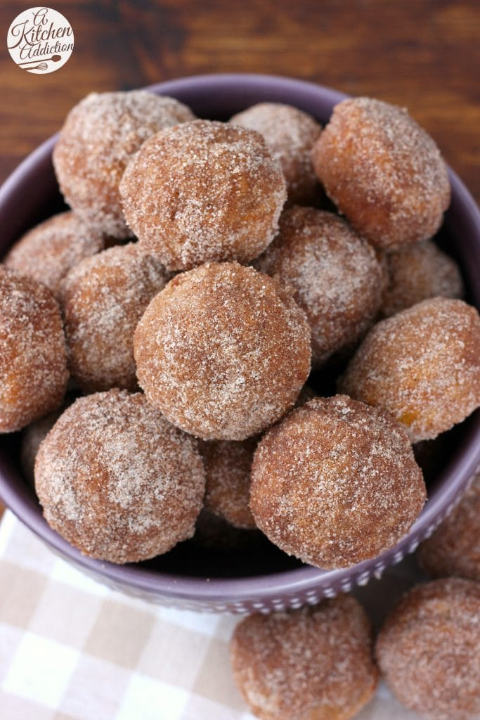 ... Cinnamon Sugar Pumpkin Donut Muffins Recipe from A Kitchen Addiction