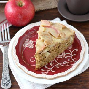 Honey Apple Upside Down Cake