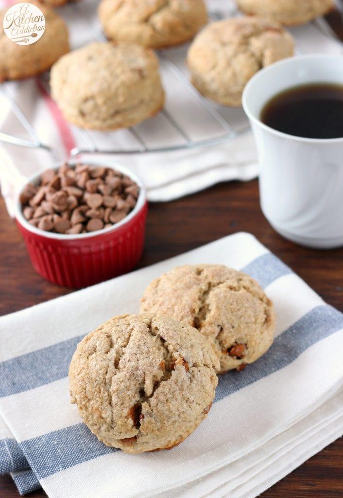Maple Cinnamon Scones Recipe from A Kitchen Addiction