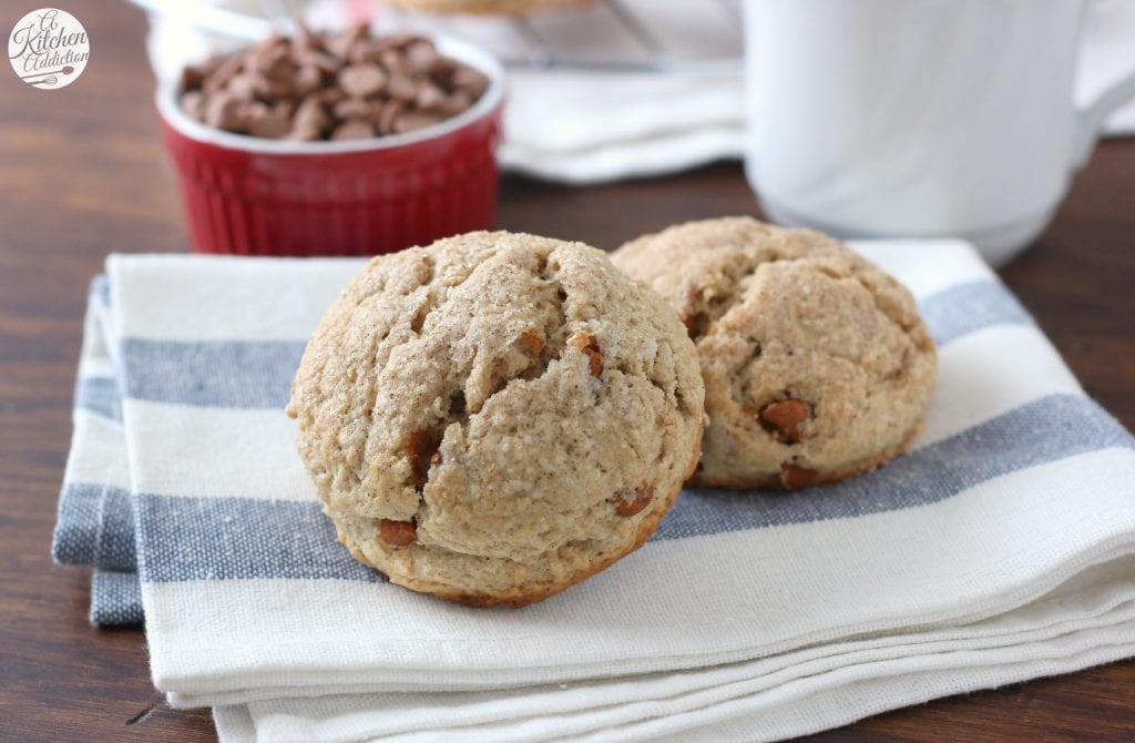 Easy Maple Scones with Cinnamon Chips Recipe from A Kitchen Addiction