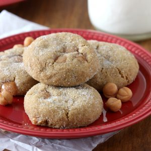 Soft Baked Caramel Ginger Cookies