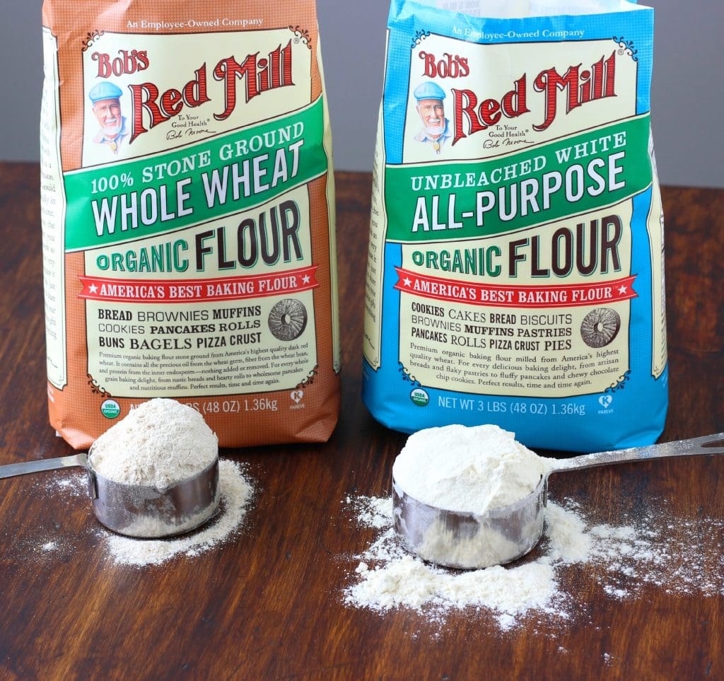 Whole Wheat and All Purpose Flour