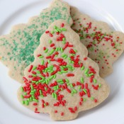 Lightened Up Sugar Cookies Recipe from A Kitchen Addiction