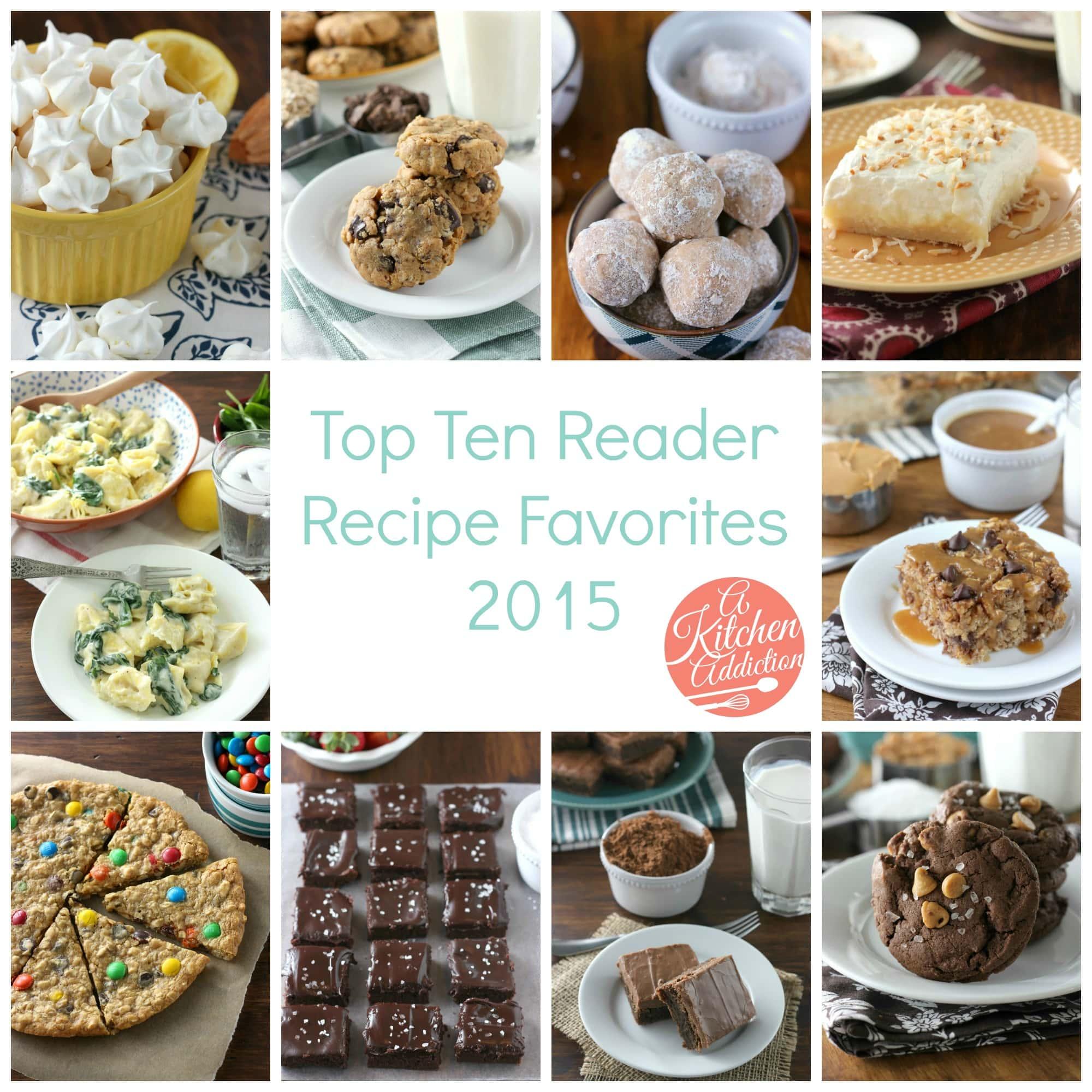 Top Ten Reader Recipe Favorites 2015
