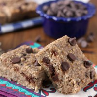 Chocolate Chip Banana Breakfast Bars