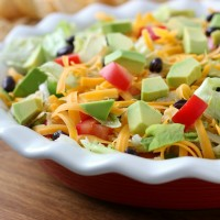 Lightened Up Ranch Taco Dip