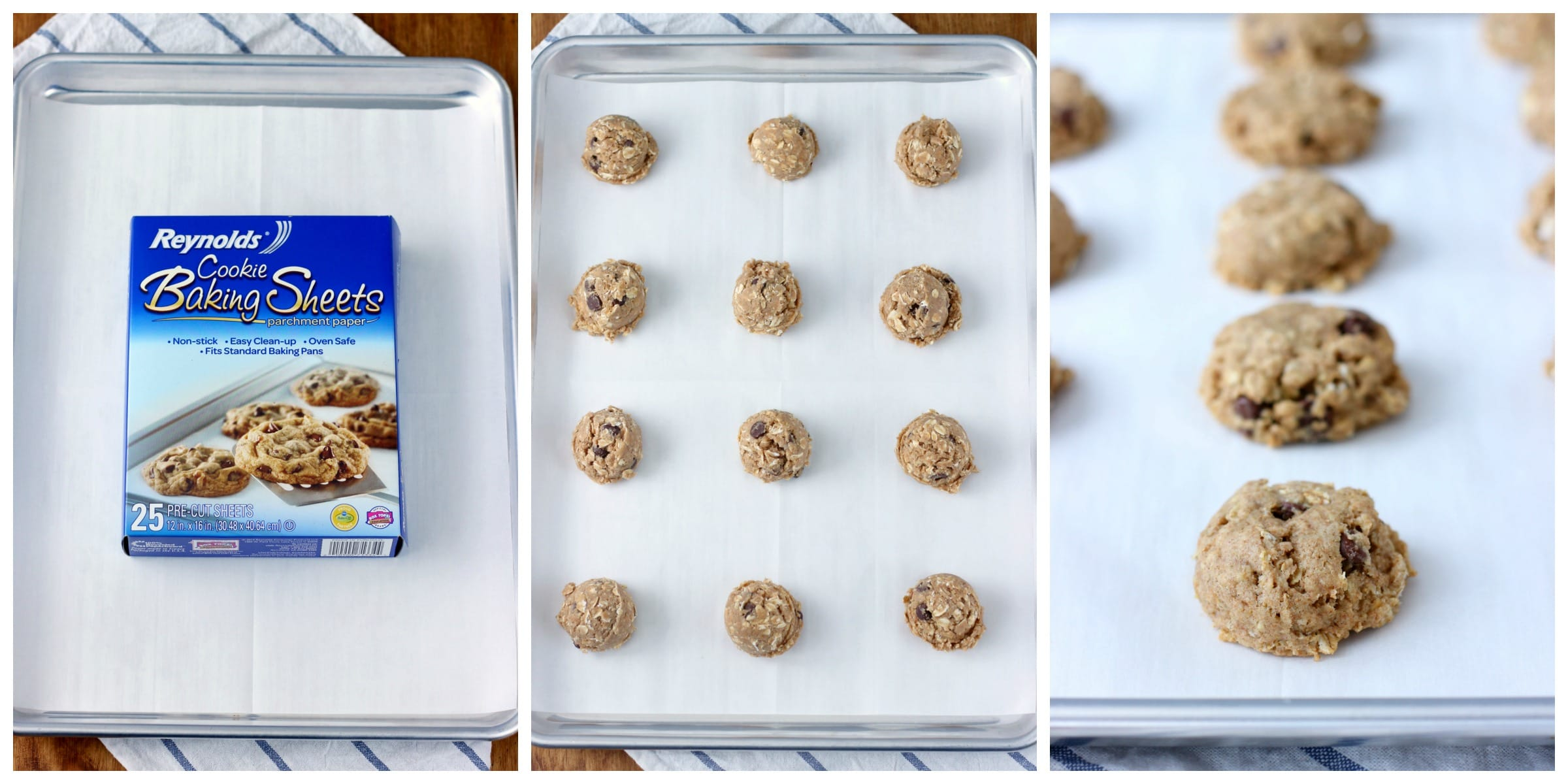 Chewy Coconut Oil Dark Chocolate Chip Oat Cookies {Whole Wheat} - A ...