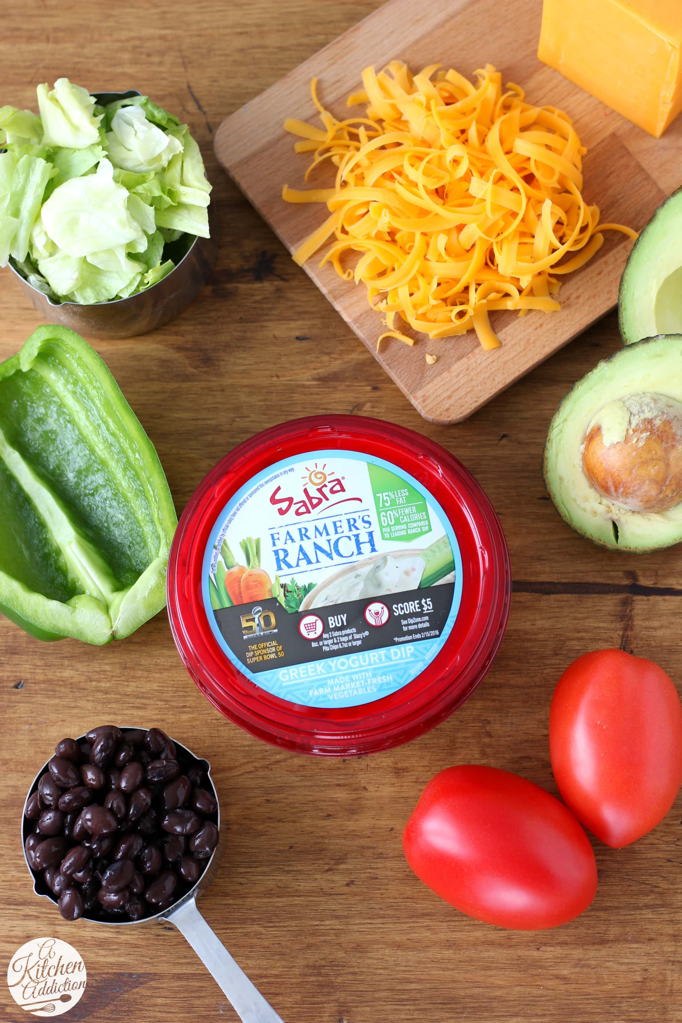 Sabra Farmer's Ranch Greek Yogurt Dip Game Day Appetizer
