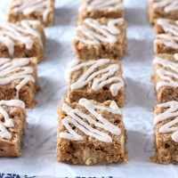 Soft Baked Apple Peanut Butter Oat Bars