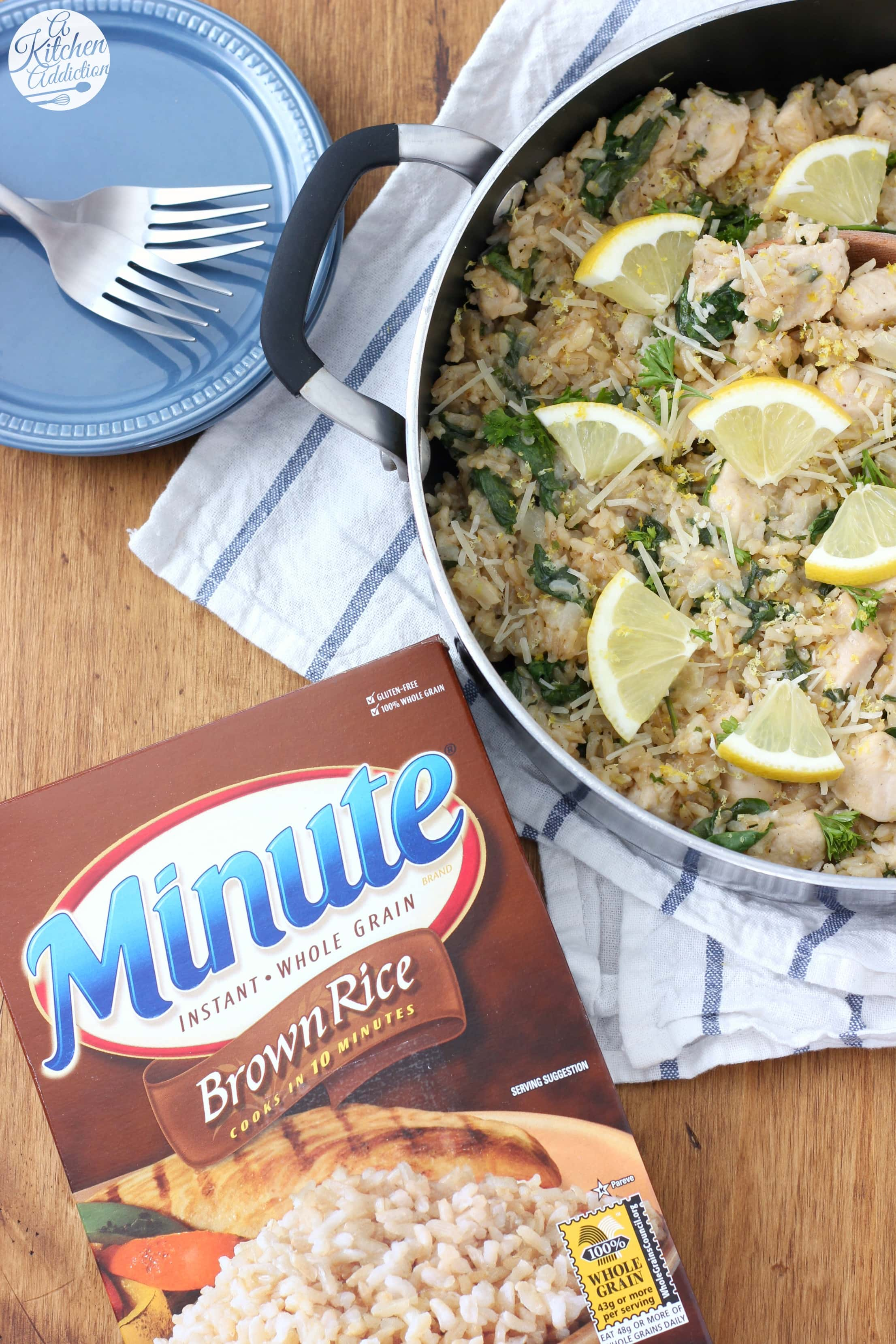 Recipe using Minute Brown Rice