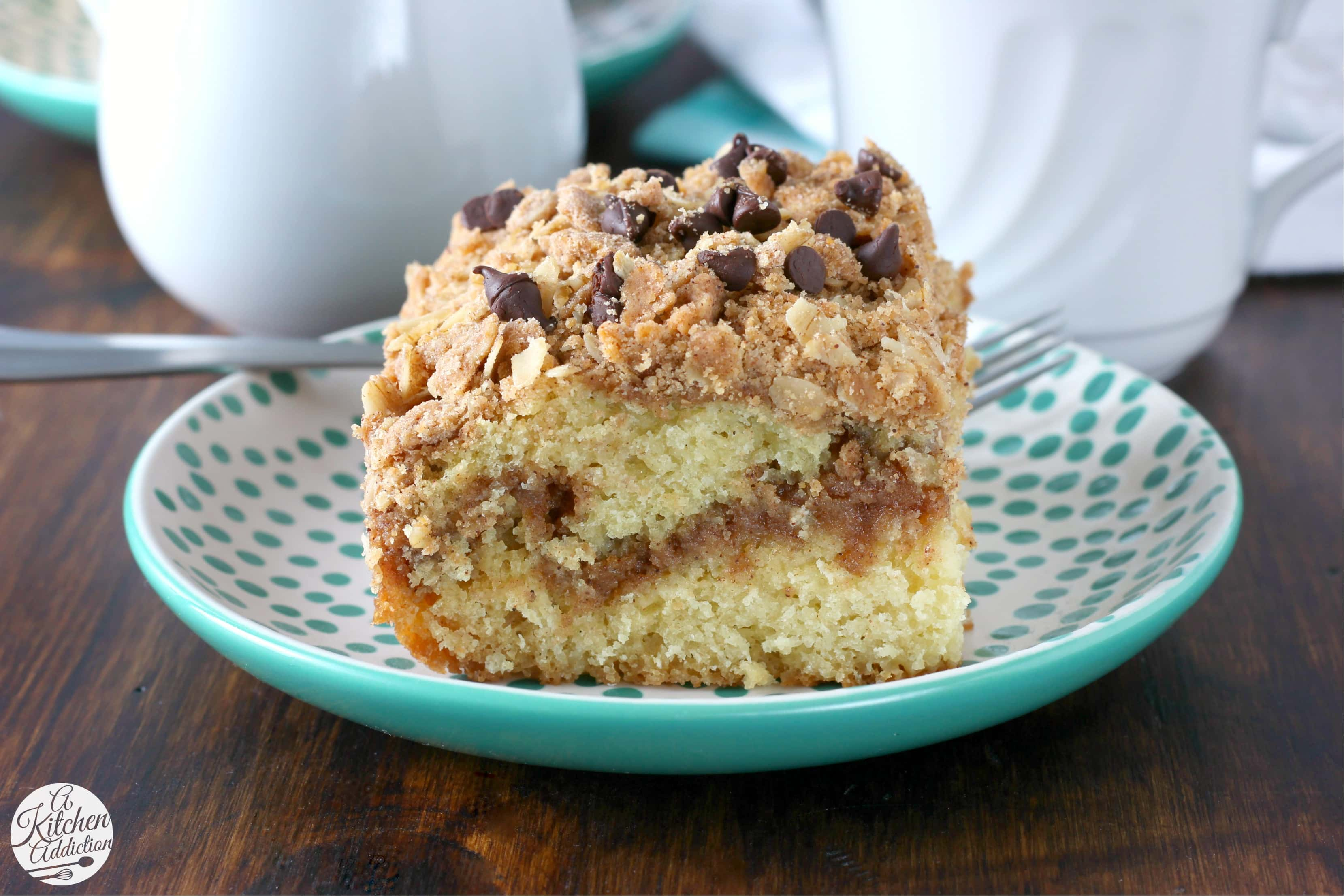 Peanut Butter Crumble Coffee Cake Recipe from A Kitchen Addiction