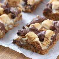 Smores Seven Layer Bars Recipe from A Kitchen Addiction