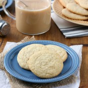 Cinnamon Tea Cookies Recipe from A Kitchen Addiction