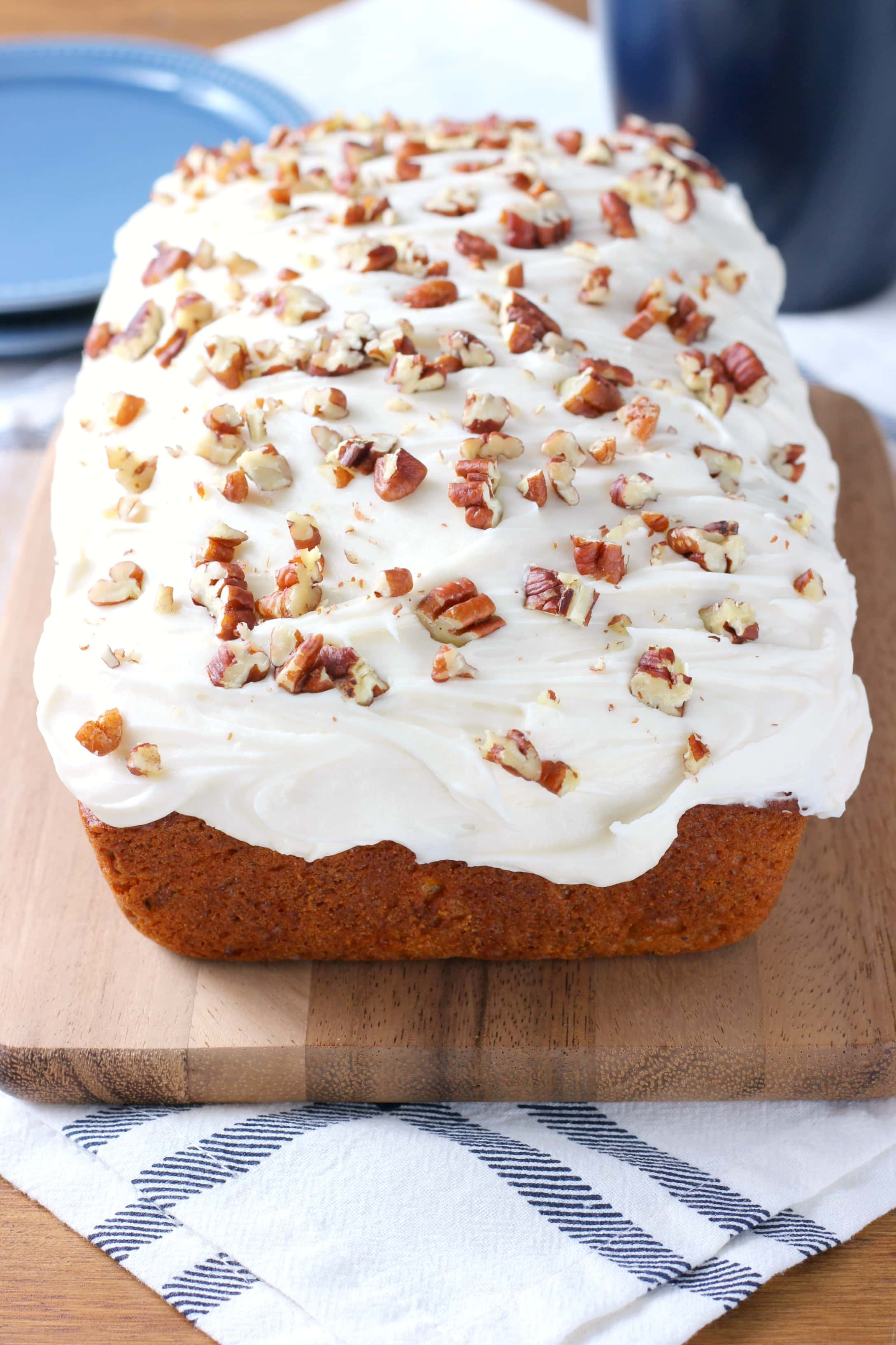 Zucchini Carrot Cake Bread Recipe from A Kitchen Addiction