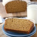Pumpkin Bread with Maple Buttercream Frosting Recipe from A Kitchen Addiction